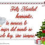 Feliz Navidad Hermanito