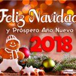 Feliz Navidad y Próspero Año 2018