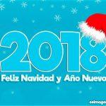 2018 Feliz Navidad y Año Nuevo