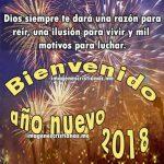 Bienvenido Año Nuevo 2018