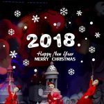 2018. Merry Christmas and Happy New Year