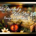 Feliz Navidad y Feliz Año Nuevo 2018, Amigos y Familiares