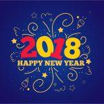 Feliz Navidad y Feliz Año Nuevo 2018.