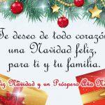 Te deseo de Corazón una Felices Fiestas