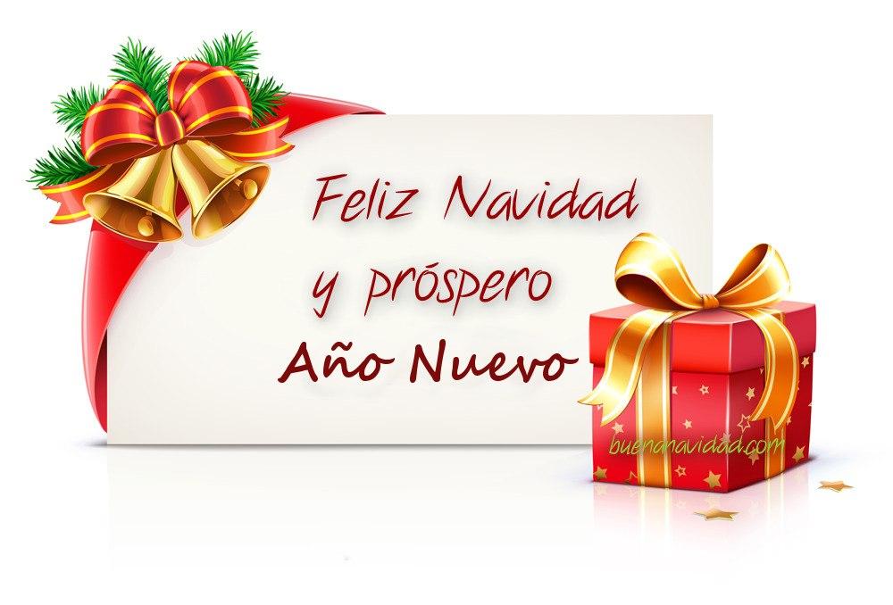 Que cada año la Navidad te envuelva gratamente junto a los que más quieres!. Feliz Navidad y Próspero Año Nuevo.