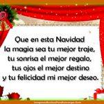 Tu Felicidad mi mejor deseo. ¡¡¡Felices Fiestas!!!