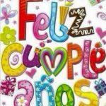 ¡Feliz Cumpleaños! Que tus sueños nunca desaparezcan
