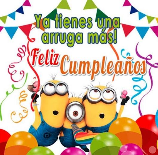 Ya tienes una arruga más ¡Feliz Cumpleaños! Te deseamos el más dulce de los días, y queremos que sepas que estás en nuestra mente a cada momento. ¡¡¡Feliz Cumpleaños!!!