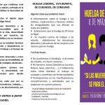 Manifiesto del 8 de Marzo- Huelga General Feminista