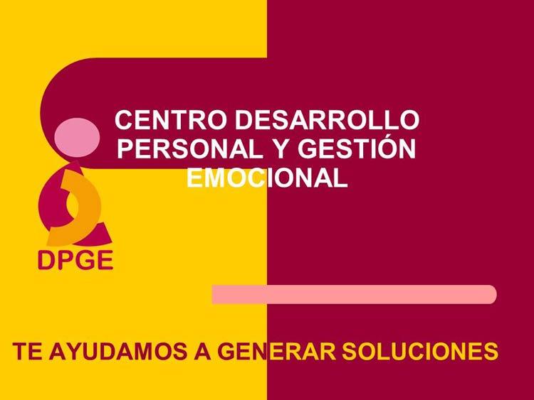DPGE - DESARROLLO PERSONAL Y GESTIÓN EMOCIONAL (VALLADOLID)