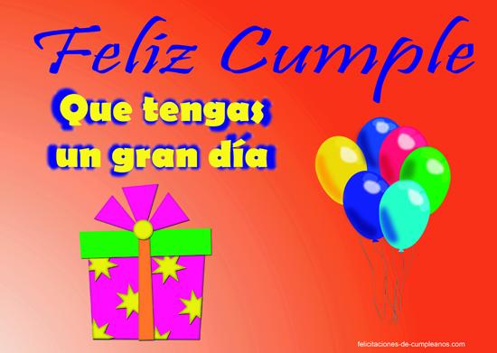 Feliz Cumple. Que tengas un gran día. Dios te envió al mundo con un propósito muy especial ¡nunca lo olvides! ¡Feliz Cumpleaños!