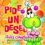 Pide un deseo ¡Feliz Cumpleaños!