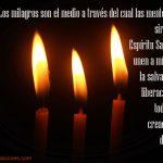 Los milagros son el medio para la salvación y la liberación de las creaciones de Dios