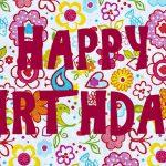 Feliz Cumpleaños. Happy Birthday. Felicidades