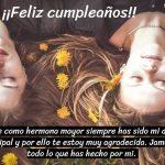 ¡¡Feliz cumpleaños, hermana!!