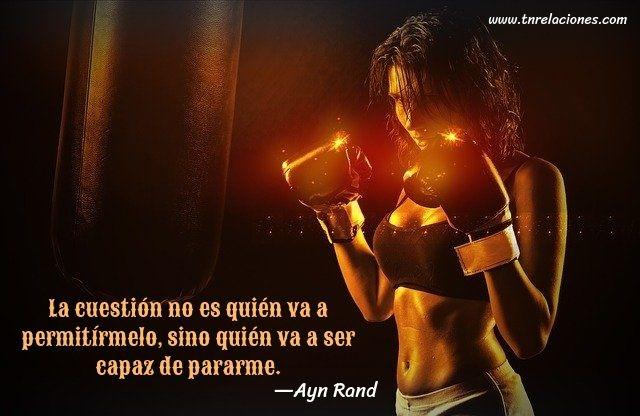 La cuestión no es quién va a permitírmelo... Ayn Rand