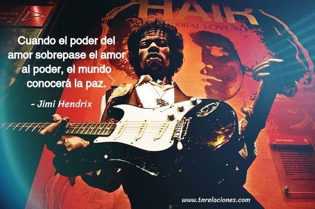 Cuando el poder del amor sobrepase... Jimi Hendrix