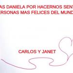 Gracias Daniela