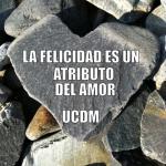 La felicidad es un atributo del amor